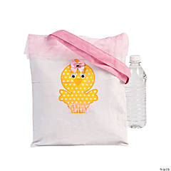 Girl's Easter Tote Bag