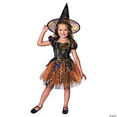 Girl's Elegant Witch Costume