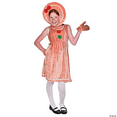 Girl's Gingerbread Costume