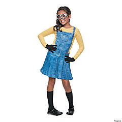 Girl's Minion Costume