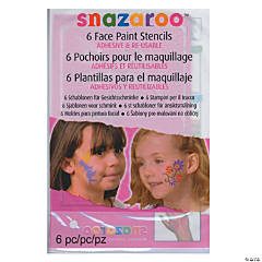Girl's Snazaroo Face Paint Stencils Adv