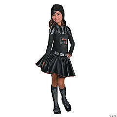 Girl's Star Wars™ Darth Vader Costume