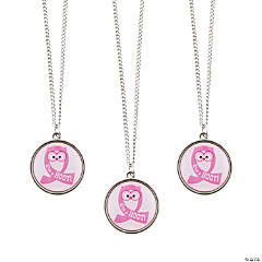 Give A Hoot Pendant Necklaces