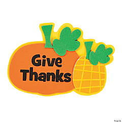 Give Thanks Magnet Craft Kit