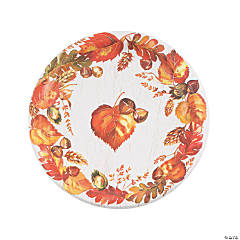 Give Thanks Paper Dinner Plates