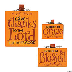 Give Thanks Sign Set