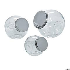 Glass Candy Jar Set