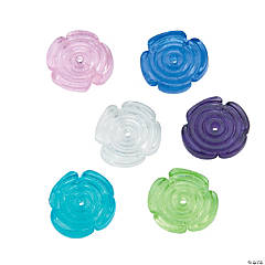 Glass Flower Beads - 10mm