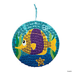 Glitter Fish Mosaic Craft Kit