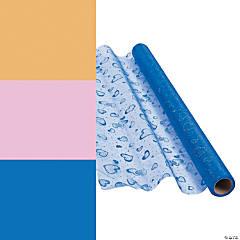 Glitter Heart Fabric Roll