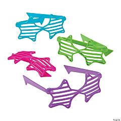 Glitter Star Shutter Glasses