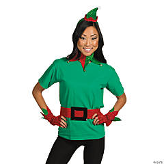 Glittering Elf Costume Kit - Adult