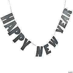 Glittering New Year's Garland