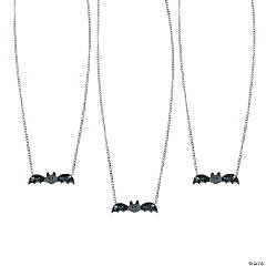 Glittery Bat Necklaces