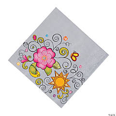 Glitzy Chicks™ Luncheon Napkins