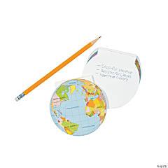 Globe Notepads