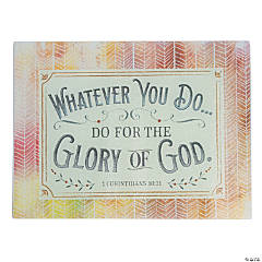 Glory of God Cutting Board