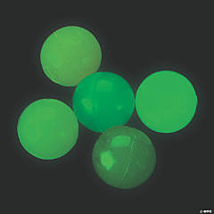Glow-in-the-Dark Bouncy Balls - 144 Pc.