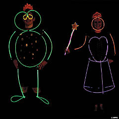 Glow-in-the-Dark Couples Costumes  Idea