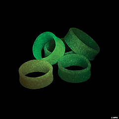 Glow-in-the-Dark Halloween Rings