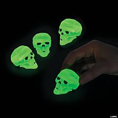 Glow-in-the-Dark Halloween Skull Pullback Racers