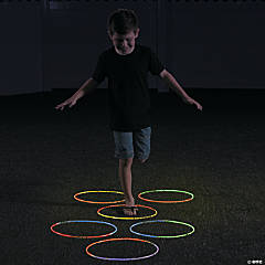 Glow-in-the-Dark Hopscotch Idea