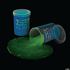 Glow-in-the-Dark Patriotic Slime