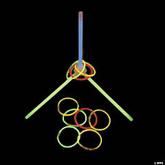 Glow-in-the-Dark Ring Toss Game