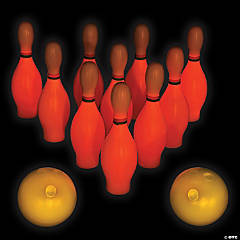 Glow-in-the-Dark Small Bowling Game
