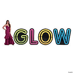 Glow Letter Stand-Ups