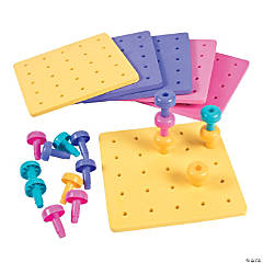 Go Girl Stacking Peg Set
