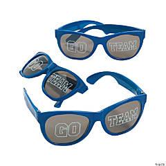 Go Team Blue Sunglasses - 12 Pc.