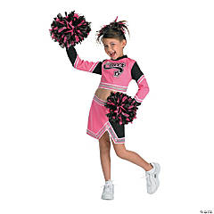 Go Team Pink Girl's Costume