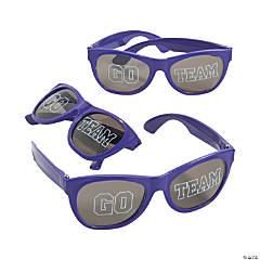 Go Team Purple Sunglasses