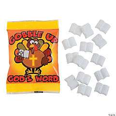 Gobble Up God's Word Candy Fun Packs