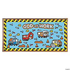 God At Work Construction Bulletin Board Set