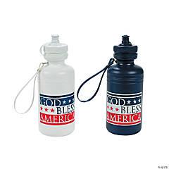 God Bless America Plastic Water Bottles