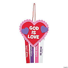 God Is Love Mobile Craft Kit