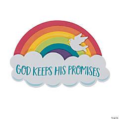 God Keeps His Promises Rainbow Magnet Craft Kit