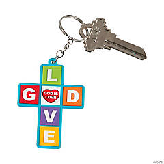 God Loves You Key Chains