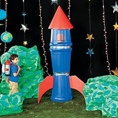God's Galaxy VBS DIY Oversized Rocket Prop Idea