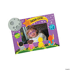 gods galaxy vbs magnetic picture frame craft kit