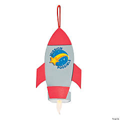 God's Galaxy VBS Tea Light Rocket Craft Kit