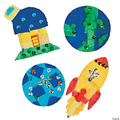 God's Galaxy VBS Tissue Paper Craft Kit
