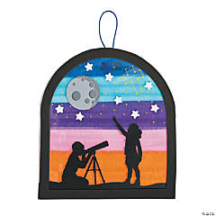 God's Galaxy VBS Tissue Paper Sign Craft Kit