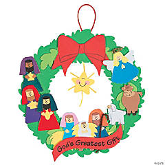 """God's Greatest Gift"" Wreath Craft Kit"