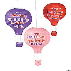 God's Love Lifts Me Up Hanging Paper Lanterns