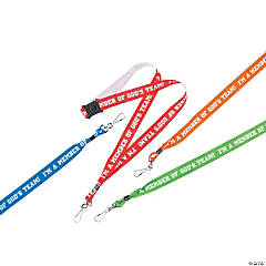God's Team Lanyards with Clip