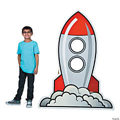 God's Galaxy VBS Rocket Photo Stand-Up