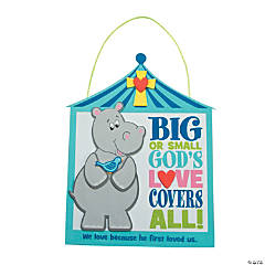 God's Love Covers All Sign Craft Kit